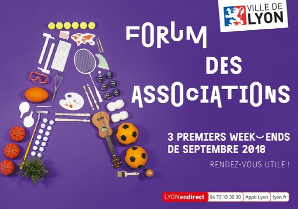 ville de Lyon campagne forum des associations 2018